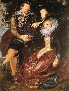 RUBENS, Pieter Pauwel The Artist and His First Wife, Isabella Brant, in the Honeysuckle Bower oil painting picture wholesale
