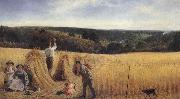 Richard Redgrave,RA The Valleys also stand Thick with Corn:Psalm LXV oil painting picture wholesale