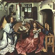 Robert Campin The Annunciation oil painting artist