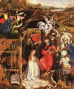 Robert Campin The Nativity oil painting artist