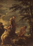 Salvator Rosa Democritus and Protagoras oil painting picture wholesale