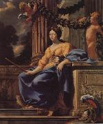 Simon Vouet Allegorical Portrait of Anne d'Autriche oil painting picture wholesale