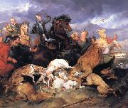Sir Edwin Landseer The Hunting of Chevy Chase oil painting picture wholesale