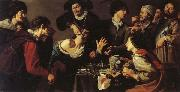 Theodoor Rombouts The Tooth-puller oil painting picture wholesale