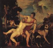 Titian Venus and Adonis oil painting picture wholesale