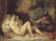 Titian Danae oil painting picture wholesale