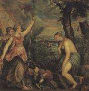 Titian Religion Supported by Spain oil painting picture wholesale