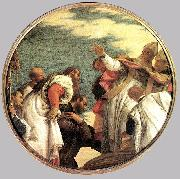 VERONESE (Paolo Caliari) The People of Myra Welcoming St. Nicholas oil painting picture wholesale