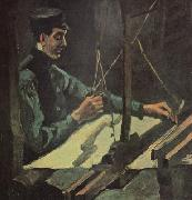 Vincent Van Gogh Weaver Facing (nn04) oil painting picture wholesale
