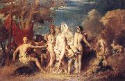 William Etty Thwe Judgement of Paris oil painting