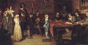William Frederick Yeames,RA And When Did You Last See Your Father oil painting artist