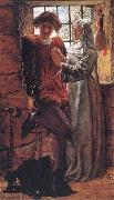 William Holman Hunt Claudio and Isabella oil painting picture wholesale