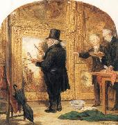William Parrott J M W Turner at the Royal Academy,Varnishing Day oil painting picture wholesale