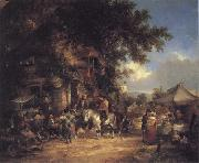 William Shayer The Village Festival oil painting picture wholesale