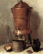 jean-Baptiste-Simeon Chardin The Copper Drinking Fountain oil painting picture wholesale