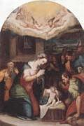unknow artist THe adoration of  the shepherds oil painting picture wholesale