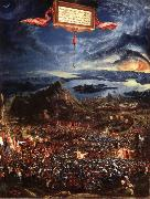 Albrecht Altdorfer Victory of Alexander over Darius,King of the Persians oil painting picture wholesale