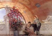 Alma-Tadema, Sir Lawrence Unconscious Rivals, oil painting picture wholesale