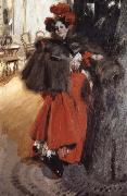 Anders Zorn Natteffekt oil painting picture wholesale
