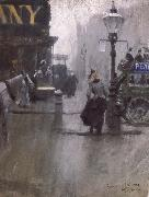 Anders Zorn Impressions de Londres oil painting picture wholesale