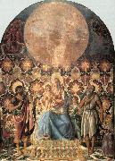 Andrea del Castagno Madonna and Child with Saints oil painting picture wholesale