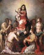 Andrea del Sarto Madonna in Glory and Saints oil painting picture wholesale
