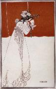 Aubrey Beardsley Isolde oil