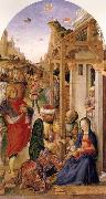 BASTIANI, Lazzaro The Adoration of the magi oil painting artist