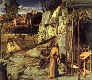 BELLINI, Giovanni St.Francis in the desert oil painting picture wholesale