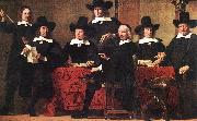 BOL, Ferdinand Governors of the Wine Merchant's Guild oil