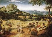 BRUEGEL, Pieter the Elder Haymaking oil painting picture wholesale