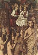 Bartolome Bermejo Christ Leading the Patriarchs to the Paradise (detail) oil painting artist