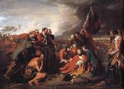 Benjamin West The Death of General Wolfe oil painting picture wholesale