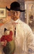 Carl Larsson Self-Portrait oil painting picture wholesale