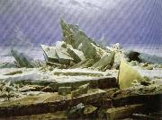 Caspar David Friedrich Shipwreck or Sea of Ice oil painting picture wholesale
