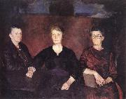 Charles Hawthorne Three Women of Provincetown oil painting artist
