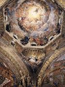 Correggio Partial view of the cupola with the pendentive depicting Saint Hilary oil painting picture wholesale