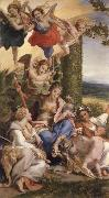 Correggio Allegorie des vertus on La vertu heroique victorieuse des vices oil painting picture wholesale