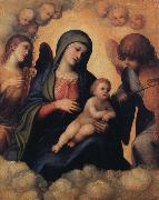 Correggio Madonna and Child with Angels playing Musical Instruments oil painting picture wholesale