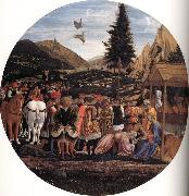 DOMENICO VENEZIANO The Adoration of the Magi oil painting picture wholesale