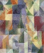 Delaunay, Robert Simultaneous Windows oil painting artist