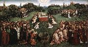 EYCK, Jan van Adoration of the Lamb oil painting picture wholesale
