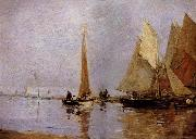 Eugene Boudin Les Regates oil painting picture wholesale