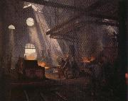 Fernand cormon An Iron Forge oil painting picture wholesale