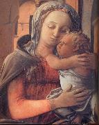 Fra Filippo Lippi Details of Madonna and Child Enthroned oil painting picture wholesale