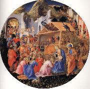 Fra Filippo Lippi The Adoration of the Magi oil painting picture wholesale