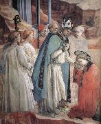 Fra Filippo Lippi Details of The Mission of St Stephen oil painting picture wholesale