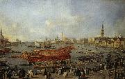 Francesco Guardi Doge on the Bucentoro on Ascension Day oil painting picture wholesale