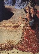 GOES, Hugo van der The Adoration of the Shepherds (detail) oil painting picture wholesale