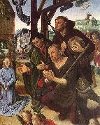 GOES, Hugo van der The Adoration of the Shepherds oil painting picture wholesale